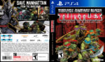 Teenage Mutant Ninja Turtles Mutants in Manhattan (2016) USA PS4 Cover