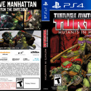 Teenage Mutant Ninja Turtles Mutants in Manhattan (2016) USA PS4 Cover