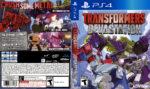 Transformers Devastation (2015) USA PS4 Cover
