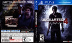 Uncharted 4 A Thief's End (2016) USA PS4 Cover