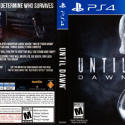 Until Dawn (2015) USA PS4 Cover