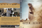 Queen of the Desert (2015) R2 Swedish Custom DVD Cover + label