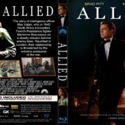 Allied (2016) R1 CUSTOM Blu-Ray Cover & Label