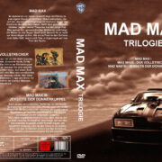 Mad Max Trilogie (1985) R2 GERMAN Custom DVD Cover