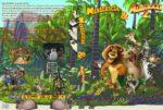 Madagascar 1+2 (Double Feature) (2008) R2 GERMAN Custom DVD Cover