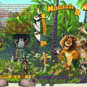 Madagascar 1+2 (Double Feature) (2008) R2 GERMAN Custom DVD Cover