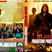 Mission: Impossible – Phantom Protokoll (2011) R2 GERMAN Custom DVD Cover