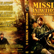 Missing in Action 1-3 – Braddock Chronicles – (1988) R2 GERMAN Custom DVD Cover