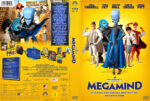Megamind (2010) R2 GERMAN Custom DVD Cover
