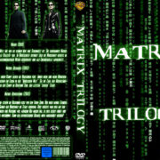 Matrix Trilogy (2003) R2 GERMAN Custom DVD Cover
