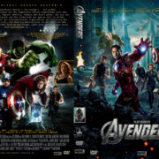 The Avengers (2012) R2 GERMAN Custom DVD Cover