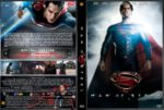 Man of Steel (2013) R2 GERMAN Custom DVD Cover