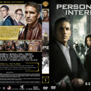 Person of Interest – Season 1 (part of a spanning spine set) (2011) R1 Custom Cover & Labels