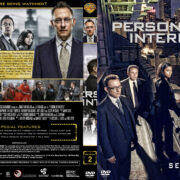 Person of Interest – Season 2 (part of a spanning spine set) (2012) R1 Custom Cover & Labels