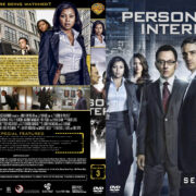 Person of Interest – Season 3 (part of a spanning spine set) (2013) R1 Custom Cover & Labels