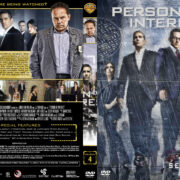 Person of Interest – Season 4 (part of a spanning spine set) (2014) R1 Custom Cover & Labels