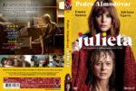 Julieta (2016) R2 Swedish Custom DVD Cover + label
