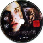 Ginger Snaps 2 Entfesselt (2004) R2 German DVD Label