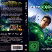 Green Lantern (2011) R2 German Cover & Custom Label