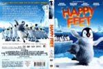 Happy Feet (2006) R2 German DVD Cover
