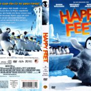Happy Feet (2006) R2 German DVD Cover