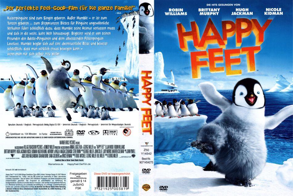 Happy Feet Dvd Cover 2006 R2 German