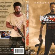Machine Gun Preacher (2011) R2 Swedish Retail Blu-Ray Cover + Custom Label