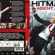 Hitman: Agent 47 (2015) R2 Nordic Retail DVD Cover + Custom Label