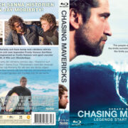 Chasing Mavericks (2012) R2 Swedish Retail Blu-Ray Cover + Custom Label