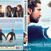 Chasing Mavericks (2012) R2 Swedish Retail DVD Cover + Custom Label