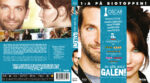 Silver Linings Playbook (2012) R2 Swedish Retail Blu-Ray Cover + Custom Label