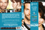 Silver Linings Playbook (2012) R2 Swedish Retail DVD Cover + Custom Label