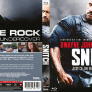 Snitch (2013) R2 Swedish Retail Blu-Ray Cover + Custom Label