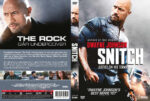 Snitch (2013) R2 Swedish Retail DVD Cover + Custom Label