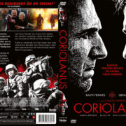 Coriolanus (2011) R2 Swedish Retail DVD Cover + Custom Label