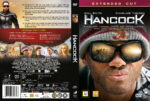 Hancock (2008) R2 Nordic Retail DVD Cover + Custom Label