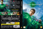 Green Lantern (2011) R2 Nordic Retail DVD Cover + Custom Label