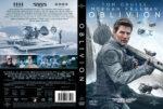 Oblivion (2013) R2 Swedish Retail DVD Cover + Custom Label