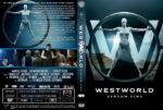 Westworld Staffel 1 (2016) R2 German Custom Cover & Labels