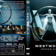 Westworld Staffel 1 (2016) R2 German Custom Cover & Labels
