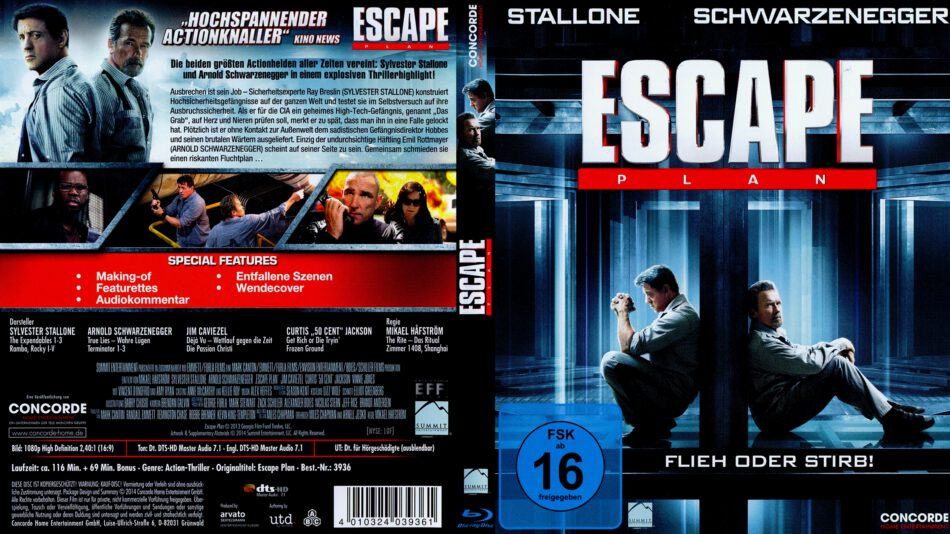 Escape Plan Deutsch
