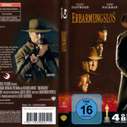 Erbarmungslos (Unforgiven) (1992) R2 German Blu-Ray Cover & Label