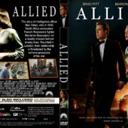 Allied (2016) R1 CUSTOM Cover & Label