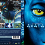 Avatar (2009) R2 Swedish Retail DVD Cover + Custom Label