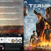 Terminator: Genisys (2015) R2 Nordic Retail Blu-Ray Cover + Custom Label