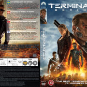 Terminator: Genisys (2015) R2 Nordic Retail DVD Cover + Custom Label