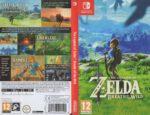The Legend Of Zelda Breath of the Wild (2017) NINTENDO SWITCH German Cover