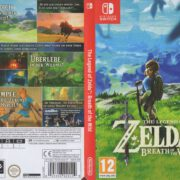 The Legend Of Zelda Breath of the Wild (2017) NINTENDO SWITCH German Cover
