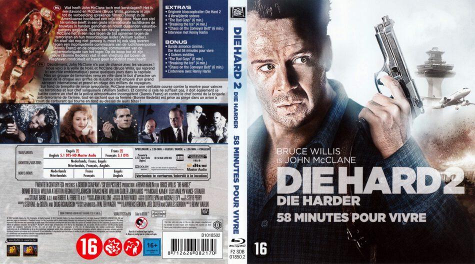 Die Hard 2 Die Harder Blu Ray Cover 1990 R2 Dutch