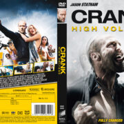 Crank High Voltage (2009) R2 Swedish Retail DVD Cover + Custom Label
